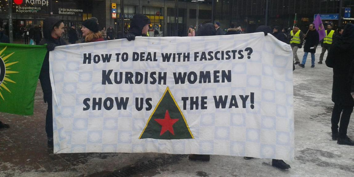 How to deal with fascists kurdish women show us the way