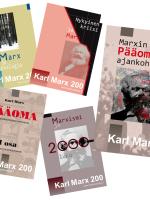 Marx200 julisteet Marx Tiedonantaja