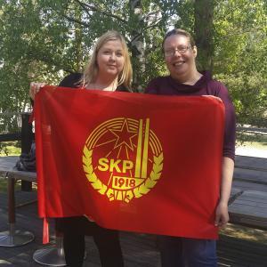 Petra Packalen Tiina Sandberg kommunistit SKP kommunismi poliittiset puolueet